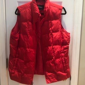 Like new! Red puffer vest